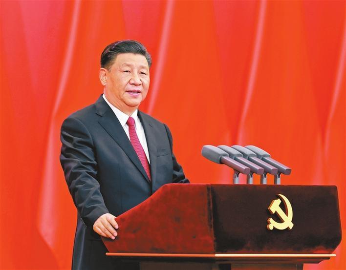 """慶祝中國共產黨成立100周年""""七一勛章""""頒授儀式在京隆重舉行 習近平向""""七一勛章""""獲得者頒授勛章并發表重要講話"""